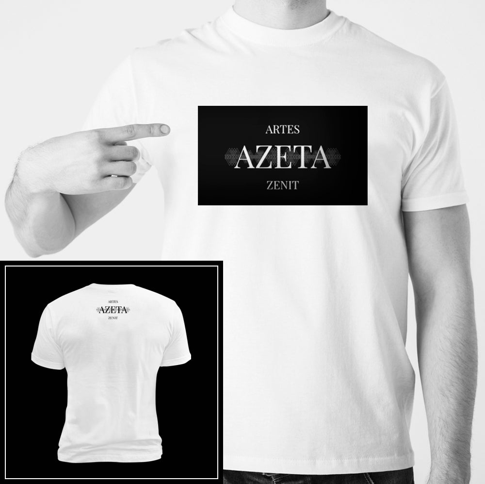 Image of Camiseta blanca AZETA