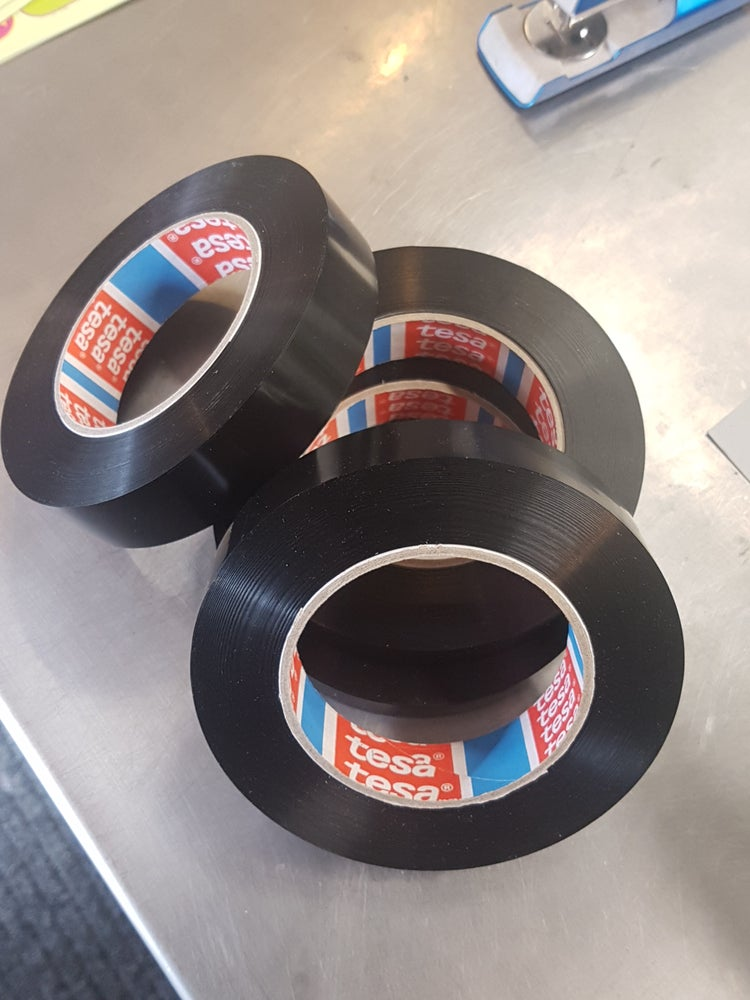 Image of Black Tubeless tape 25mmx60m