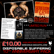 Image of 'DISPOSABLE SUFFERING' - 10th Anniversary Pack!