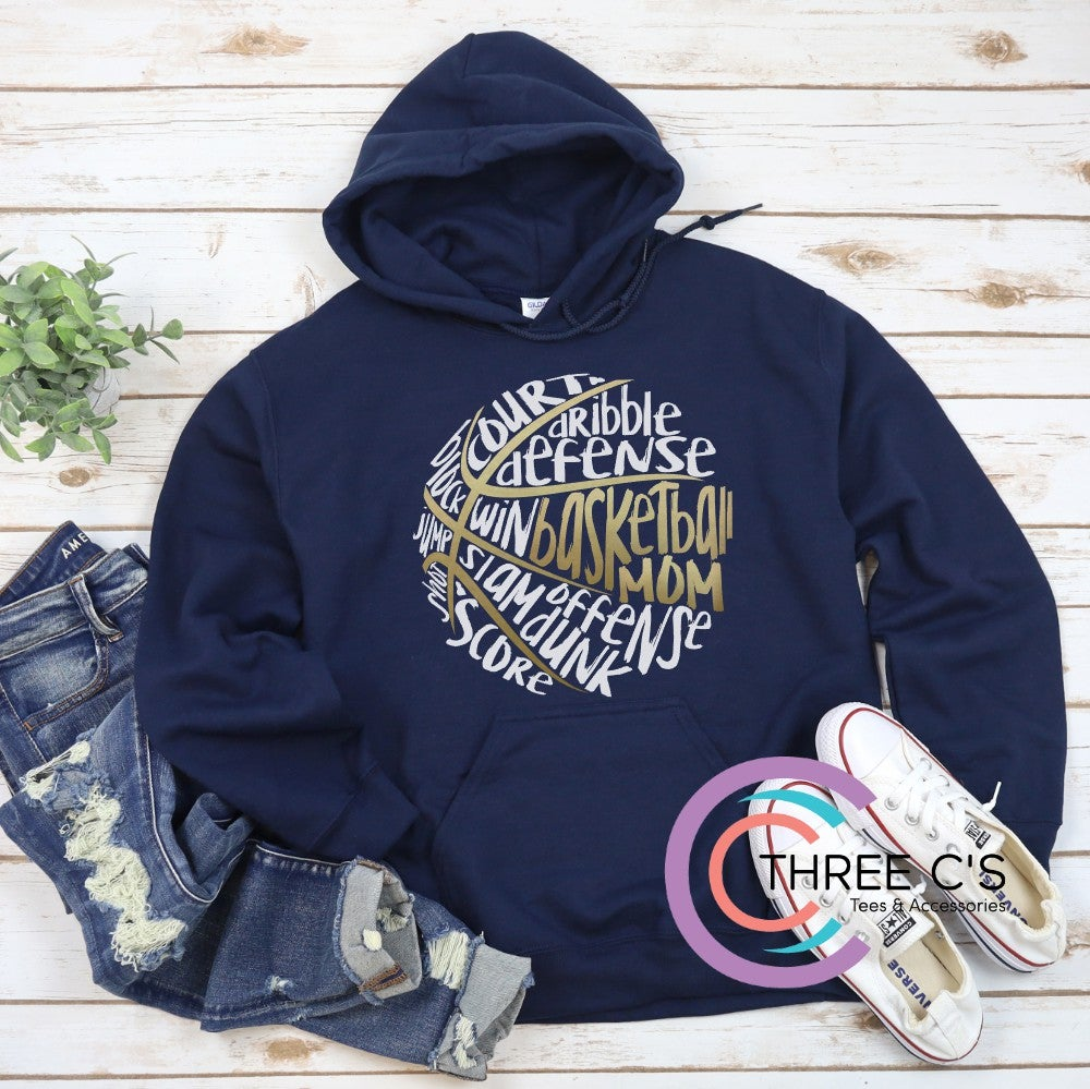 Image of Basketball Mom Hoodie