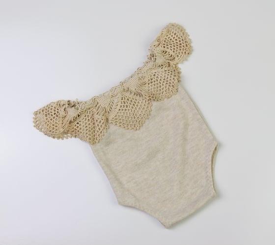Image of Newborn Vintage Romper - a