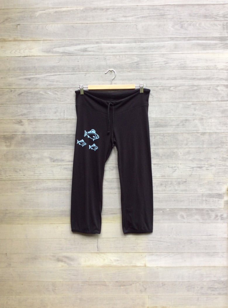 Image of Fish Cropped Pants