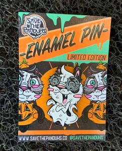 Image of Panduh Boo GLOW Enamel Pin