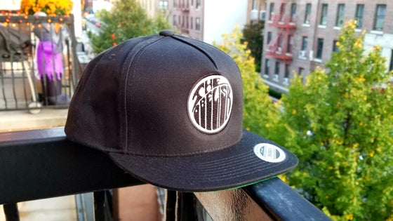 Image of Obelisk Classic Snap Back Cap w/ Embroidery