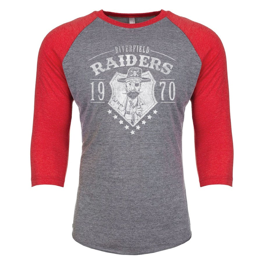 Image of Adult Riverfield Raider Raglan- Pre Order