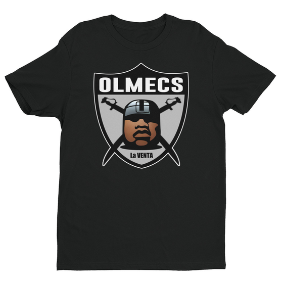 Image of OLMEC CIVILIZATION BLACK BALL GAME SHIRT