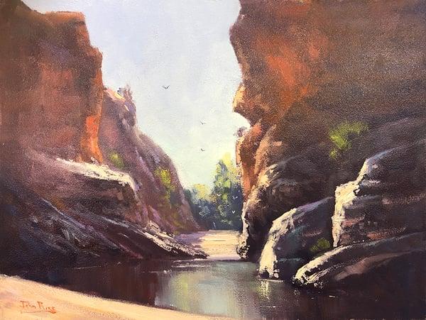 Image of Morning At Ormiston Gorge