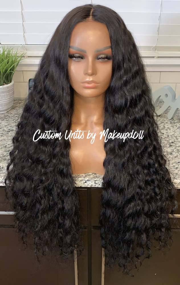 "Image of RAW Indian Natural Wave 28"" Custom Lace Closure Wig! (SUPER FULL)"