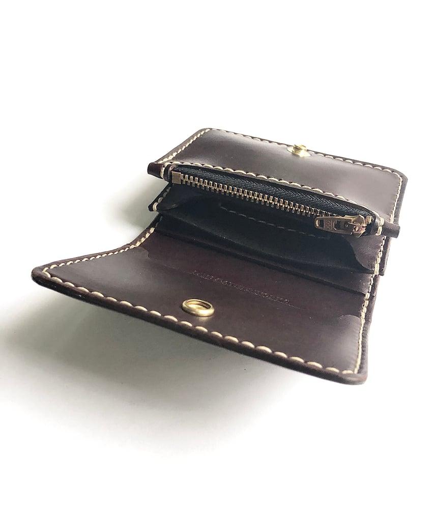 Image of Compact Wallet - Dark Brown