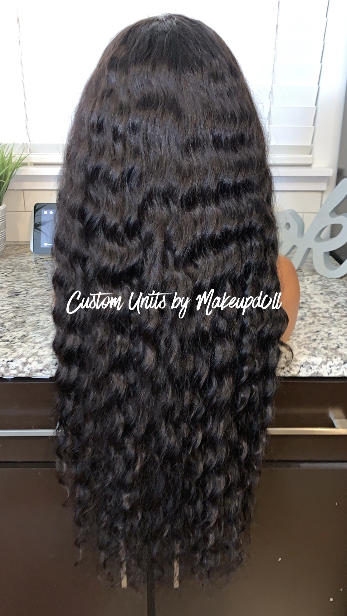 """Image of RAW Indian Natural Wave 28"""" Custom Lace Closure Wig! (SUPER FULL)"""