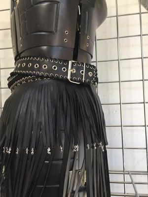 Image of Beaded tassel skirt/belt