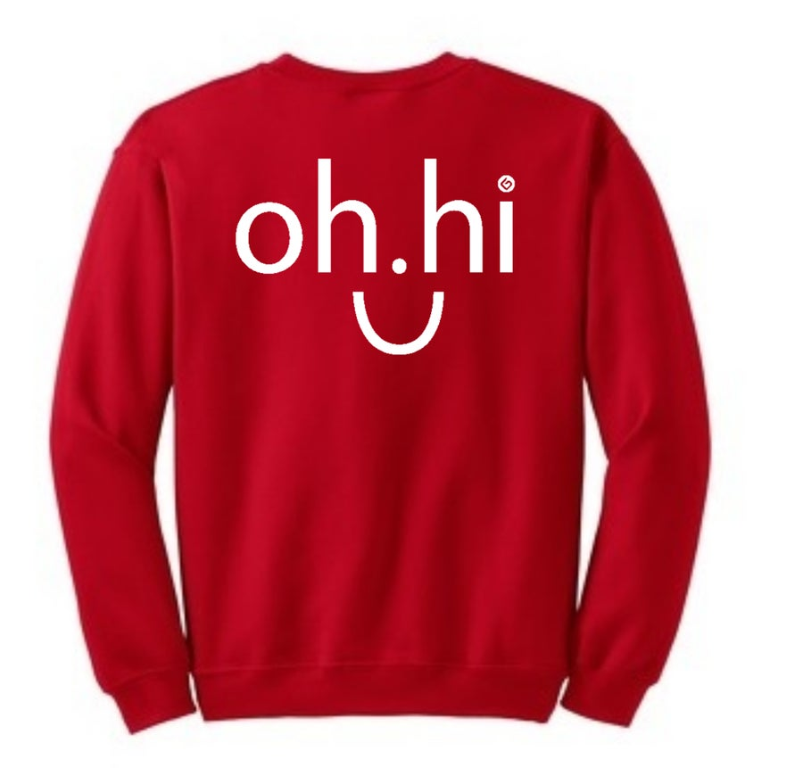 Image of OH.HI SWEATSHIRT