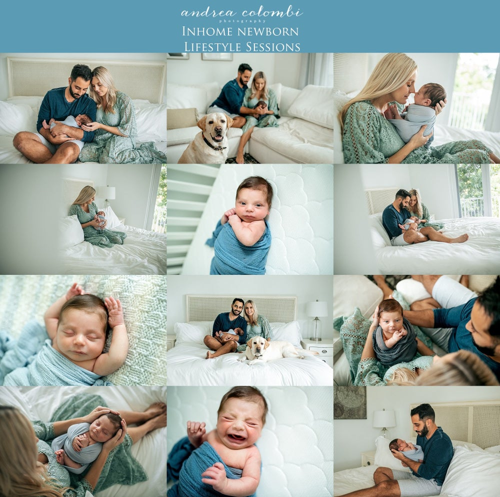 Image of RETAINER: $200 In home Lifestyle newborn session retainer
