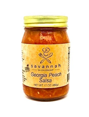 Image of Mild Georgia Peach Salsa