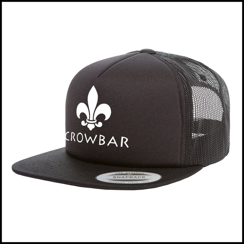 Image of CROWBAR BLACK MESH TRUCKER HAT