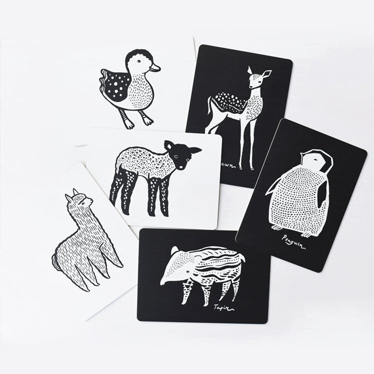Image of Wee Gallery Baby Animals Art Cards