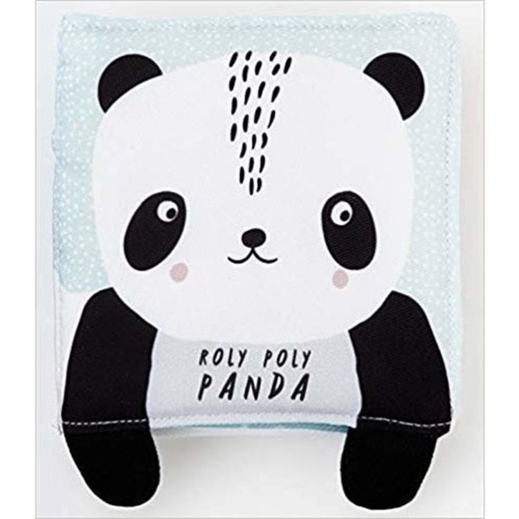Image of Wee Gallery Panda Soft Cloth Book