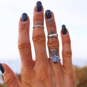 Image of Raw Cut Stacking Ring