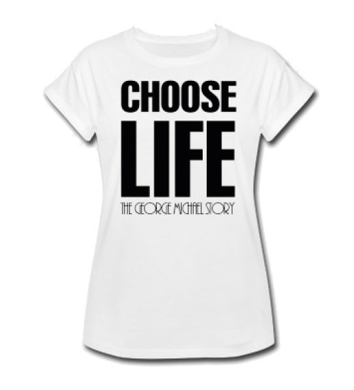 Image of Choose Life White T-Shirt