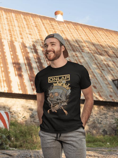 Image of Crowned Skull t-shirt ONLAP