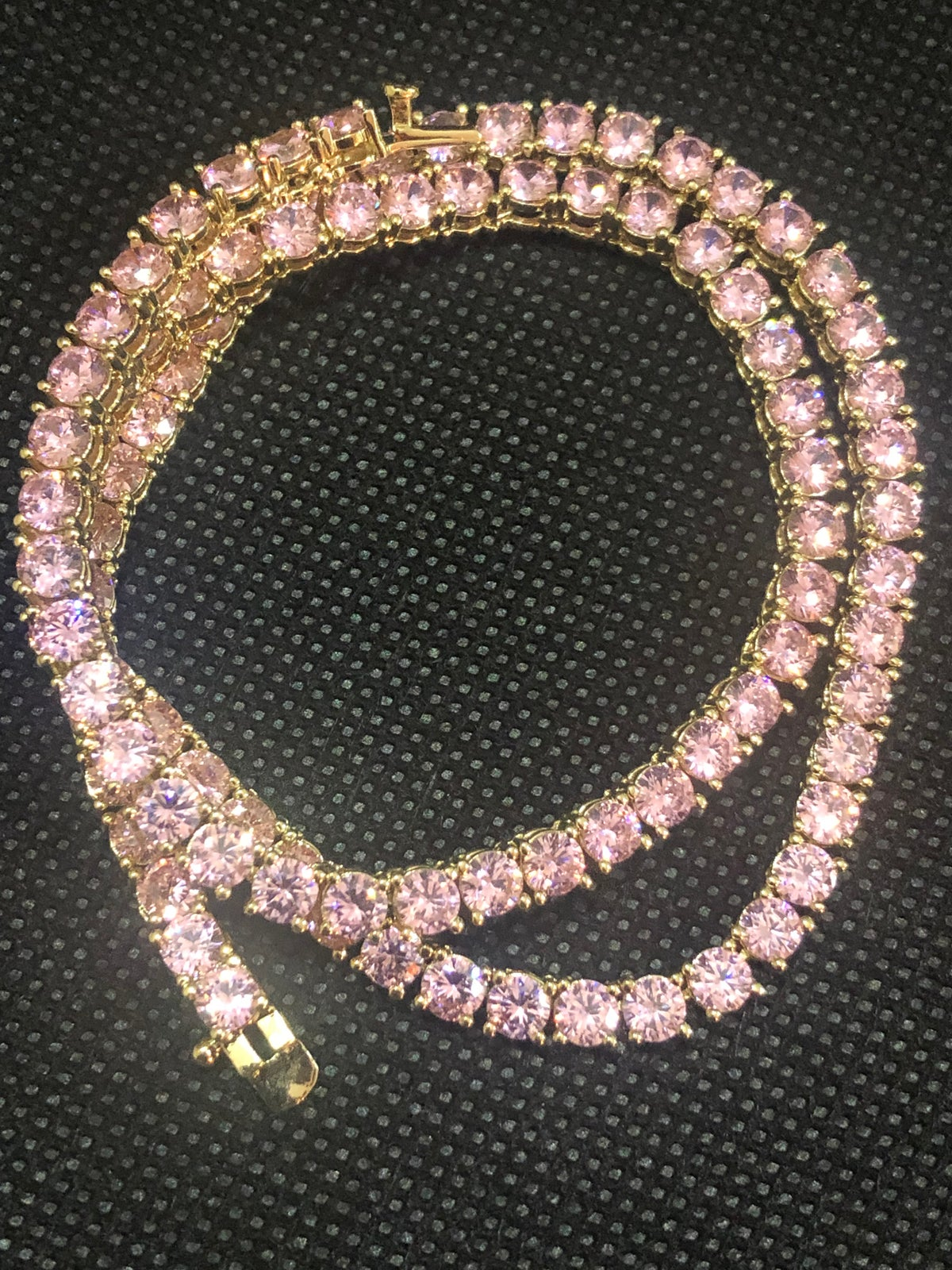 Image of Rock candy Tennis Necklace