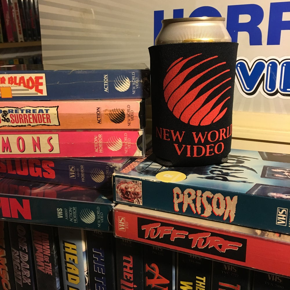 Image of New World Video Koozie