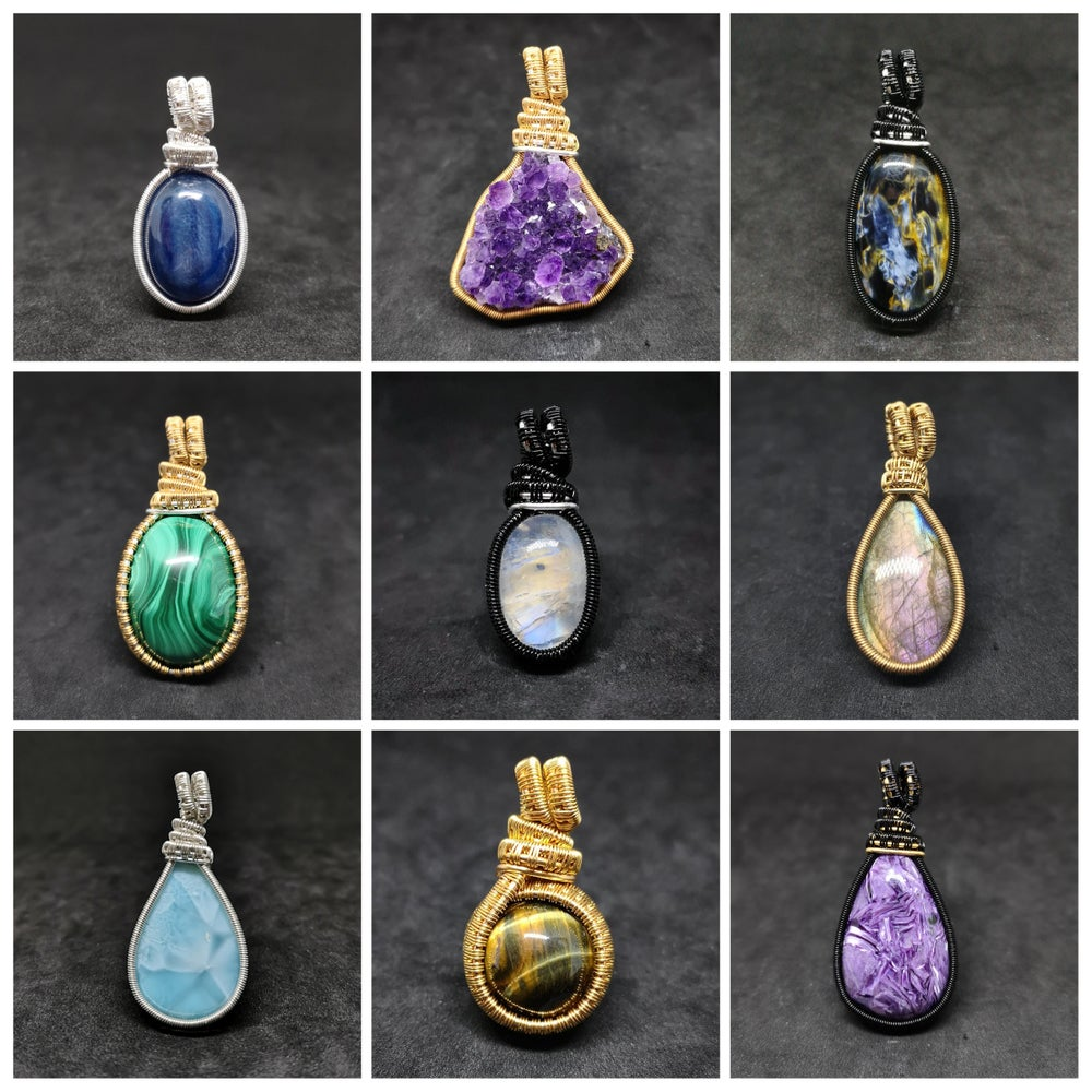 Image of PENDANTS : PLEASE READ, ORDER ON INSTAGRAM ONLY