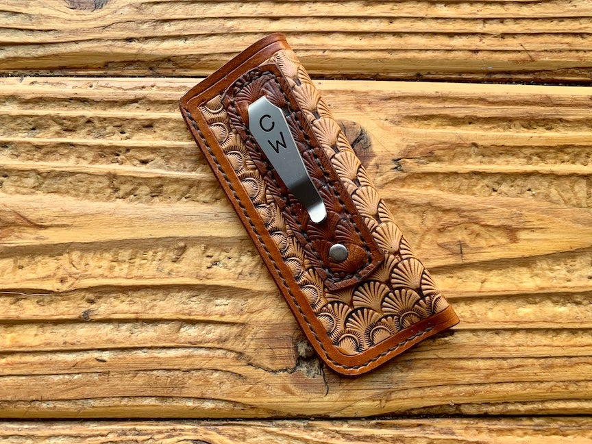 "Image of Custom Balisong Pocket Clip Slip - ""Ragnar"""