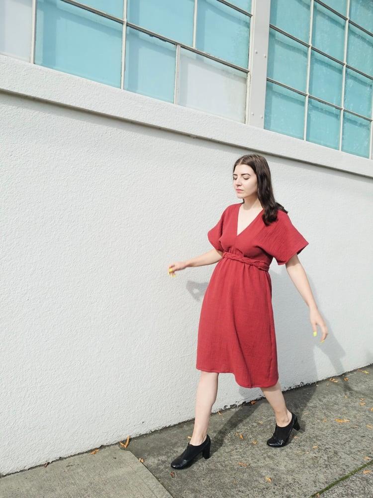Image of Rosewood Double Gauze Dress