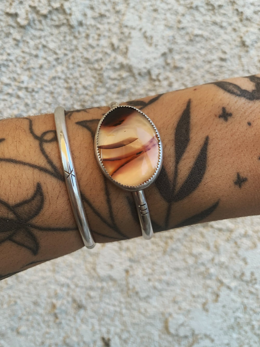 Image of Montana Agate  Cuff