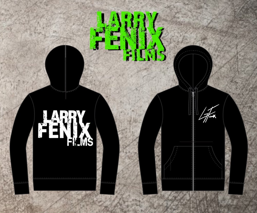 Image of Larry Fenix Signature ZIP-UP Hoodie