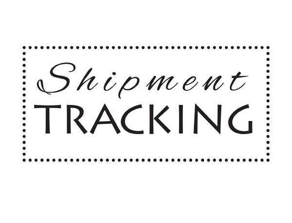 Image of Tracking code for your order