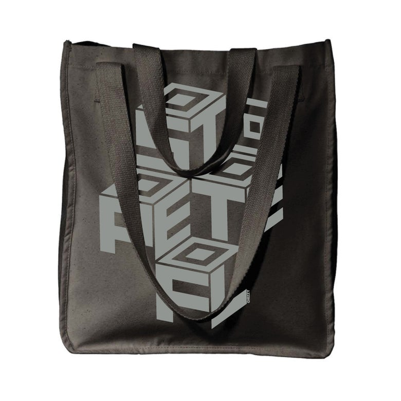 Image of ST PETE BLOCK CANVAS TOTE