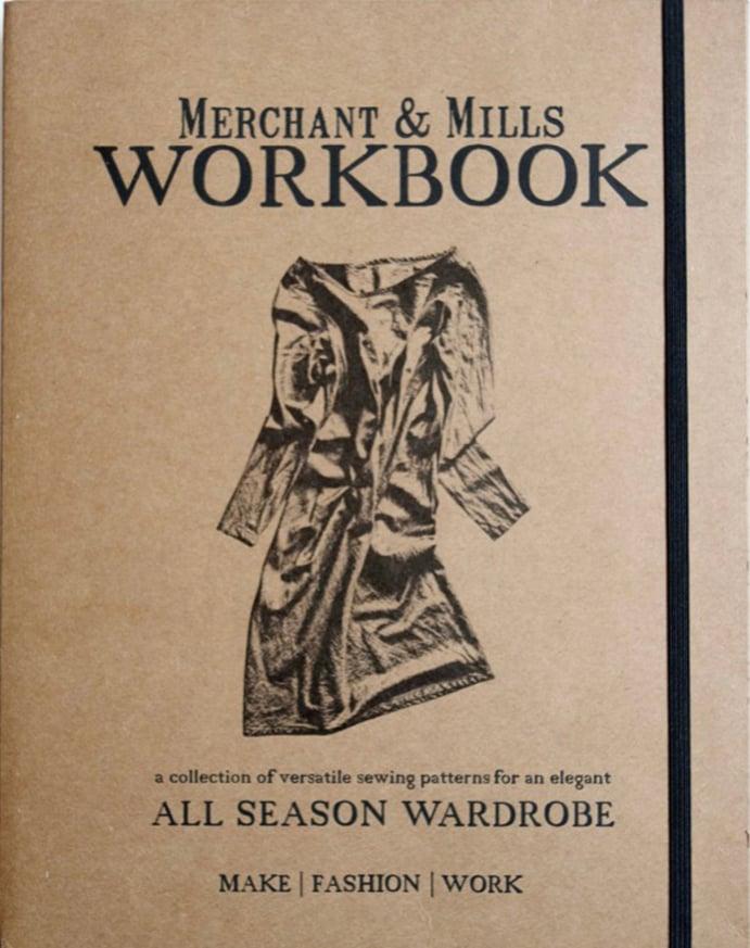 Image of Libro de costura Workbook de Merchant & Mills