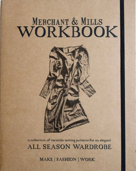 Image of Libro de costura Workbook de Merchant & Mills