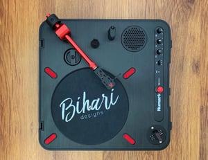 Image of Bihari Tonearm QRM PT01 Aluminium Red