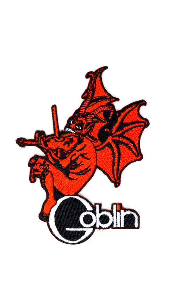 Image of Goblin - Iron On Embroidered Patch
