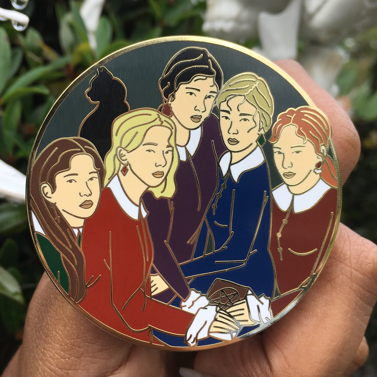 Image of Halloween 2019| Seulgi Spellman and the Weird Sisters Enamel Pin