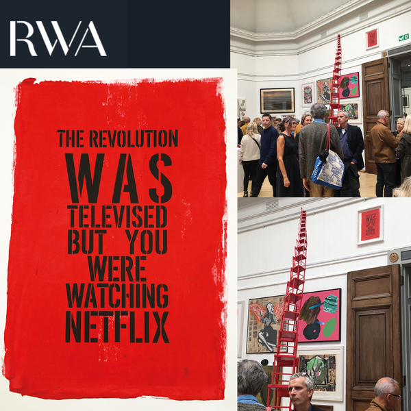 Image of Netflix-1 Limited Edition Prints - as featured in the 2019 RWA Open & Bristol Magazine
