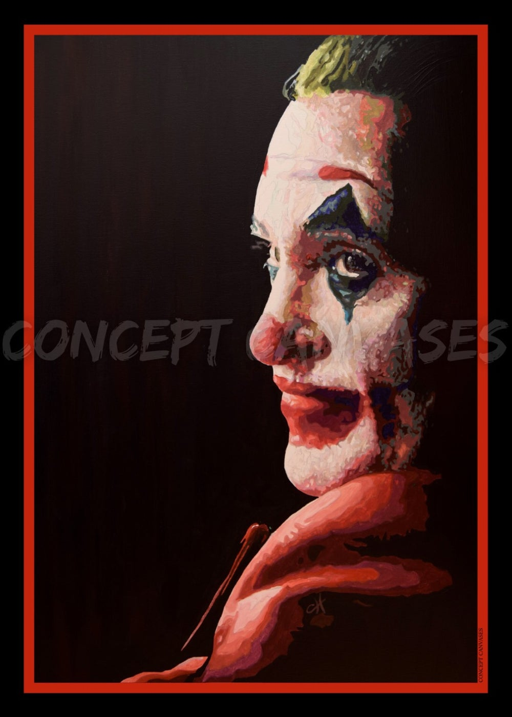 Image of Joker 'Making Cents Of It All' A3 Print