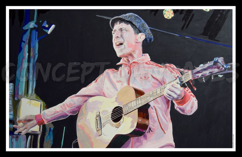 Image of Gerry Cinnamon 'They told me a could'nae' A3 Print