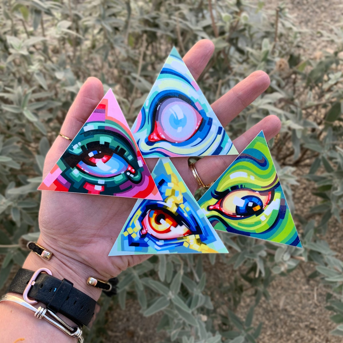 Image of Illuminaughty Series Sticker Packs