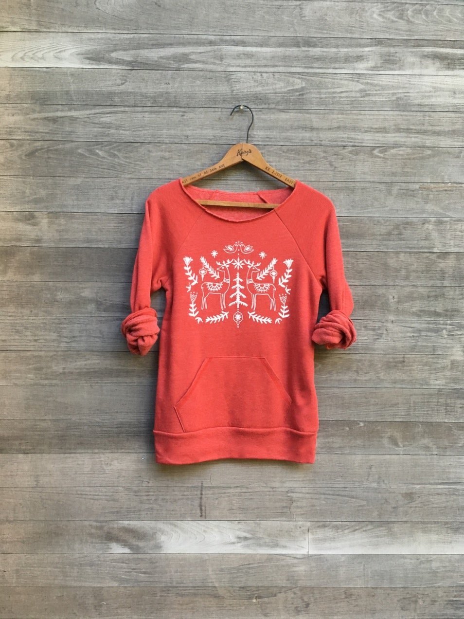 Image of Christmas Sweater in Red
