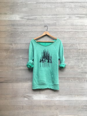 Image of Pine Trees Sweatshirt