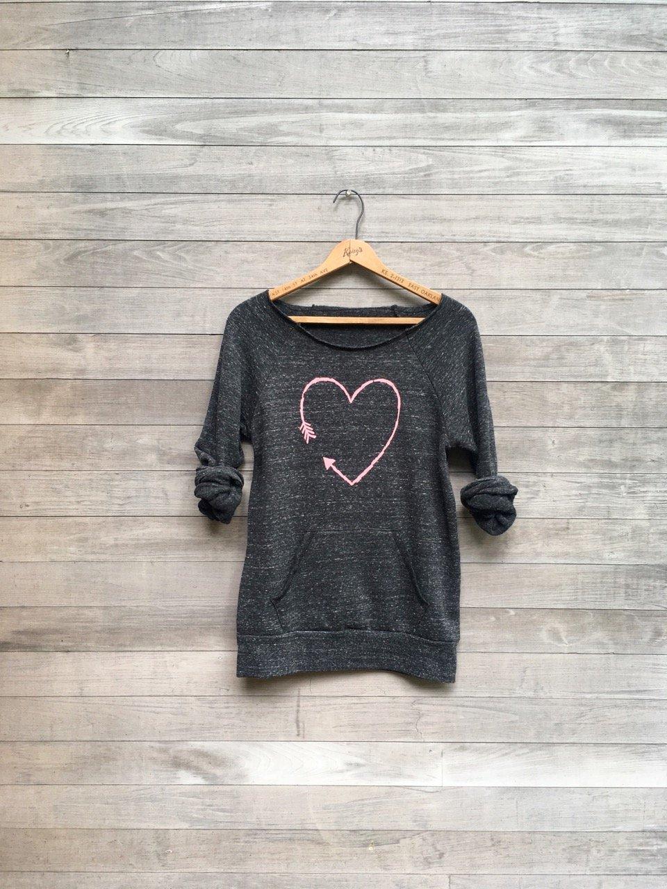 Image of Arrow Heart Sweatshirt