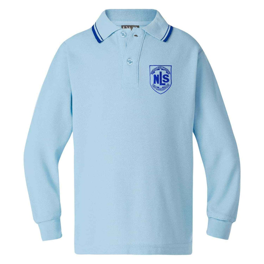 Image of NLS Polo Shirt - Long Sleeve