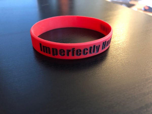 Image of Bracelets (Imperfectly Human Tour) (Red or Black)