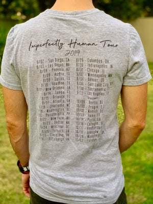Image of Debut Imperfectly Human Tour Tee (LIMITED QUANTITY)