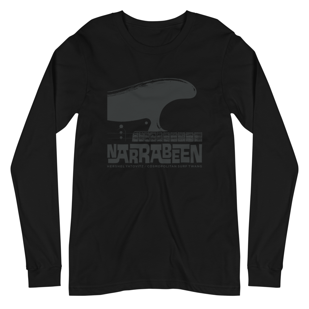 Image of GUITAR WAVE / GREY / LONG SLEEVE