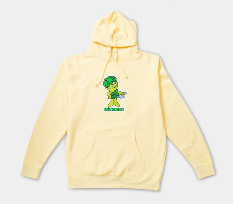 Image of Lil Bud Hoodie L. Yellow